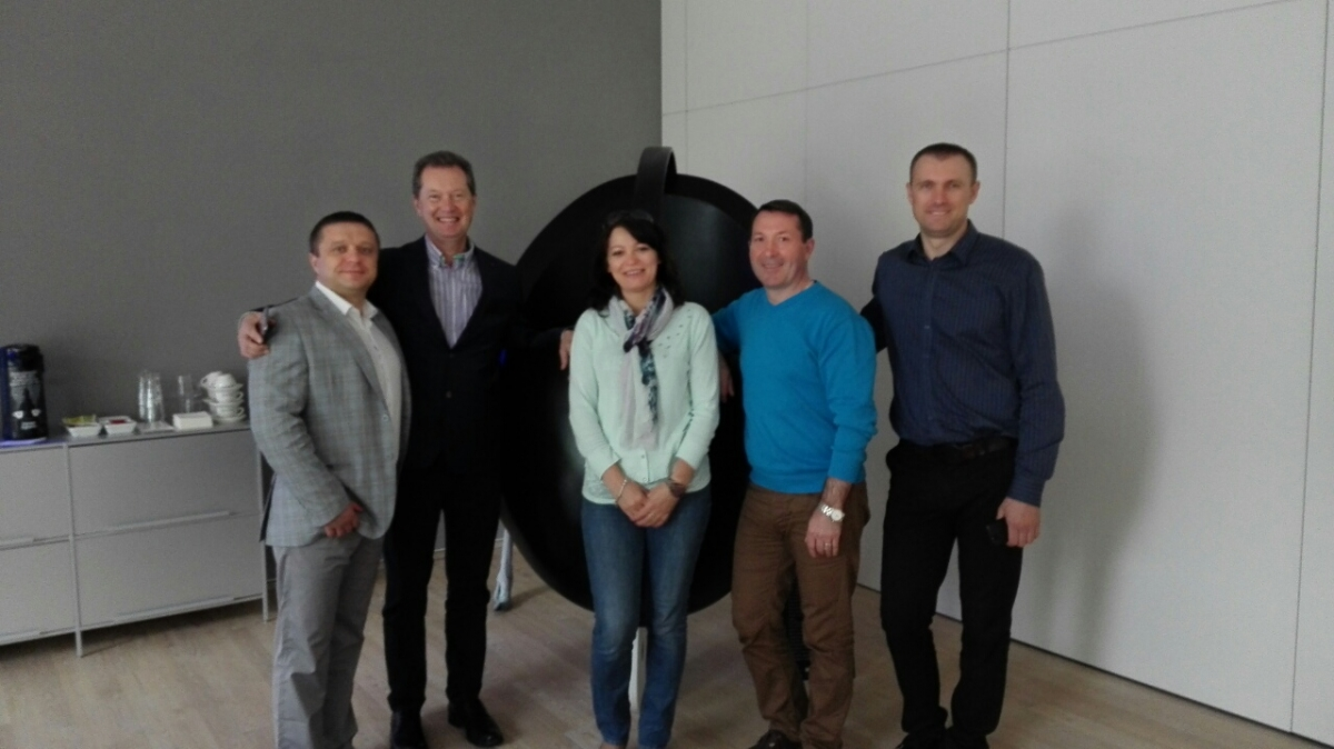 Russian poultry specialists visit Impextraco