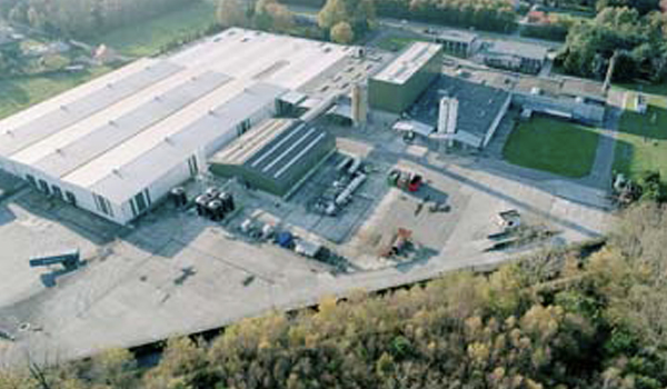 Production facility Impextraco in Belgium
