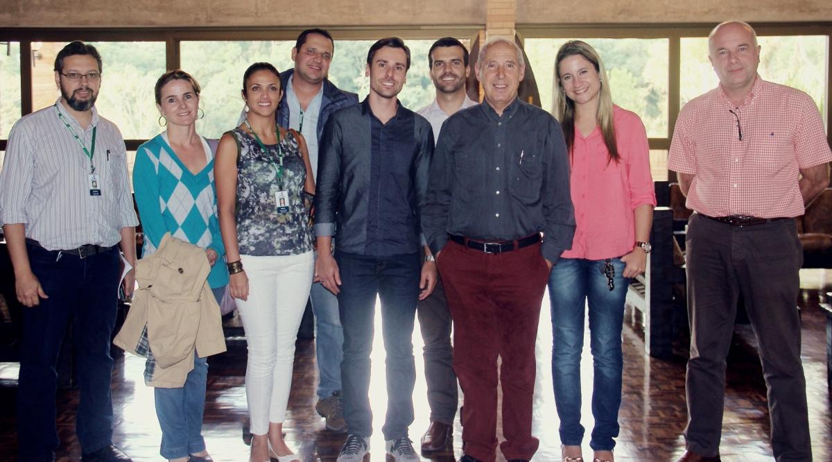 Dr. François Madec visits PUC - University of Paraná